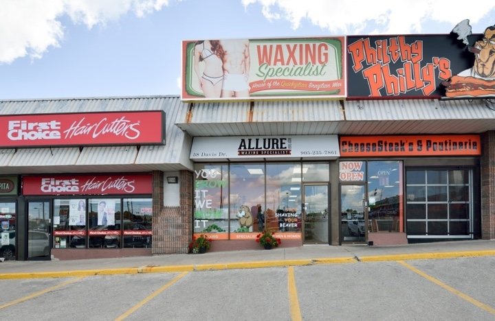 waxing in newmarket , ontario